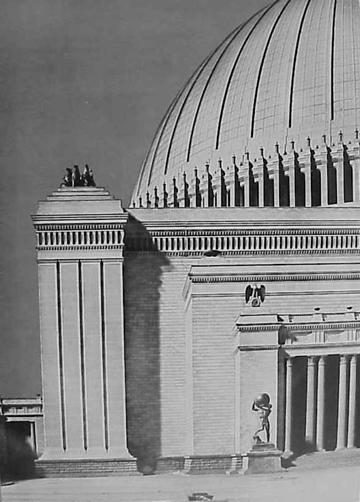 El capitolio planeado de Albert Speer para Germania