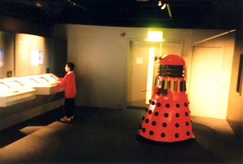 Boy Menaced By Dalek