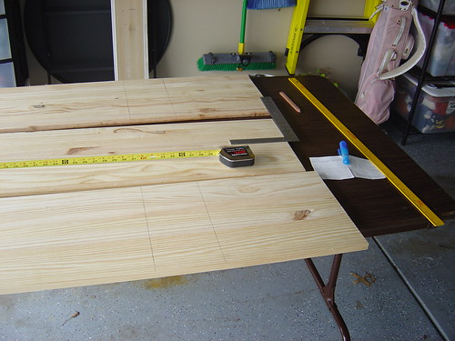 Book Shelf Building: the measuring