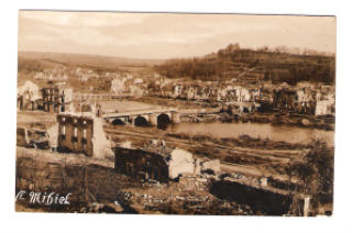Postcard Picture of War Torn St. Mihiel