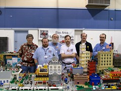 Bay Area LEGO Train Club at Pleasanton Train Show in Nov. 2005