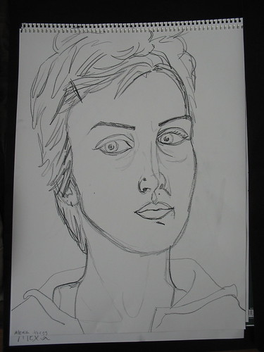 self portrait contour