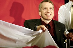 Sam Sullivan Will Carry The Flag at the Closing Ceremonies in Torino