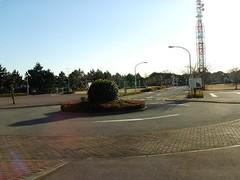 花見川緑地交通公園で自転車にのったよ!