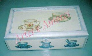 Caixa de Chá Grande