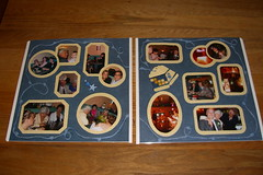 Wedding Reception Scrapbook -- Spread 2