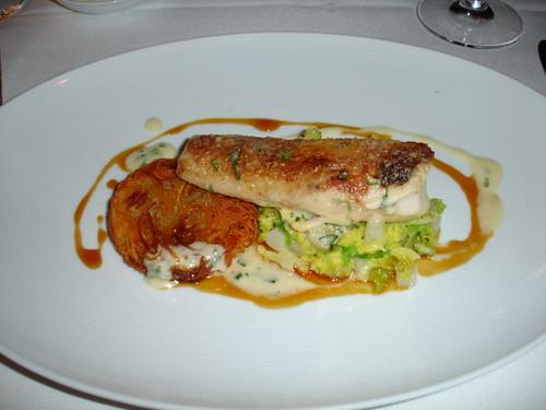 Cafe Boulud's roast chicken - winter Restaurant Week lunch
