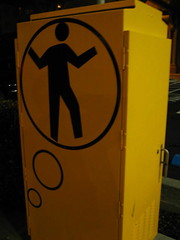 Traffic Signal Box Man #1