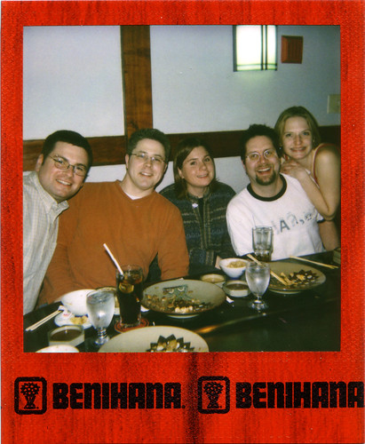 Birthday Lunch at Benihana