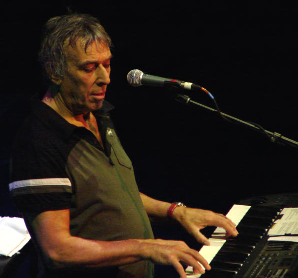 John Cale Live 2006 keyboardRe-Verb