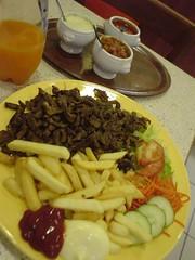 A Kebab Platter