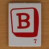 Word Grab letter B