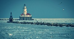 Chicago Harbor Lighthouse photo by Carl's Captures