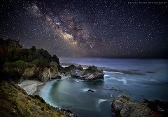 Milky way to McWay Falls photo by Sapna Reddy Photography
