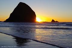 Sunset Near Falcon Cove photo by John Behrends
