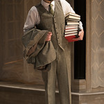 Sean Fortunato (Jorgen Tesman) in HEDDA GABLER at Writers Theatre.  Photo by Michael Brosilow.9