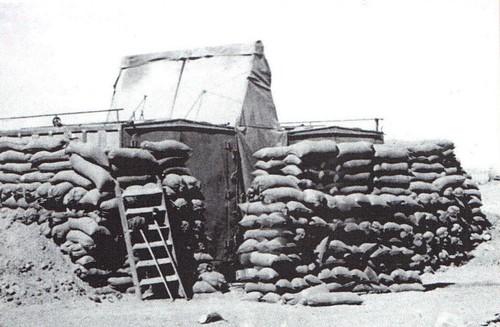 Santé - Bir Hakeim 1942 - le poste de secours