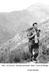 BM 4 Chambarand - 1945 24-25 Avril_Breil_Croix de Mairige_Emile Gauthier - Fonds Emile Gauthier