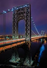 George Washington Bridge photo by Photography by Carlos Martin
