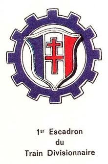 101e CA du Train - Insigne - Col B. Bongrand Saint Hillier