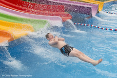 Waterslide Action Shot photo by Chris Rayner Darlo