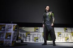 SDCC 2013: Thor the Dark World Panel Loki Crashes photo by Marvel Entertainment