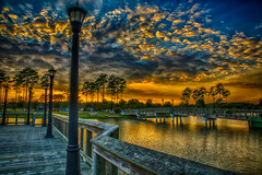 Sunset @ Market Street Commons, Myrtle Beach photo by Bill Varney