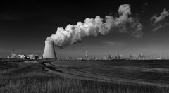 Nuclear Power Station. Doel, Belgium. photo by Luciën Reyns (on/off)