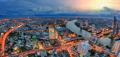 Bangkok city photo by anekphoto