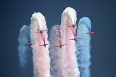 Red Arrows Hawk T1 009 photo by cwoodend..........Thank you for 100k+ views