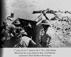 RA- 1942- Bir Hakeim- 1ere batterie - Roger Nordmann - Copie