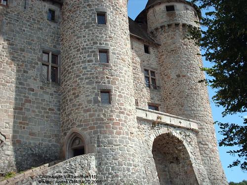 Château de Val à Lanobre (15) Le balcon