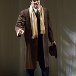 Rod Thomas (Georg) in SHE LOVES ME at Writers Theatre. Photos by Michael Brosilow.