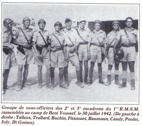 RMSM -1942 juillet- Camp de Beni Youssef- source - Françaislibres.net