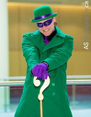 Riddler at Toronto Comic Con photo by andreas_schneider