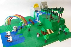 It is a nice day in Sandy Lego photo by monsterbrick