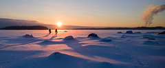 Ice fishers photo by Antti Tassberg