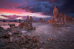 Storm Clearing Over Mono Lake photo by Joe Ganster