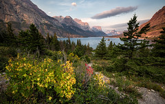 A Touch of Fall, Glacier National Park, Montana photo by Michael Riffle