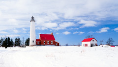 Tawas Point Light Station: #3 on Explore and abruptly disappeared the same day... photo by hz536n/George Thomas