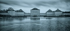 Schloss Nymphenburg & Blue Tone photo by Luís Henrique Boucault