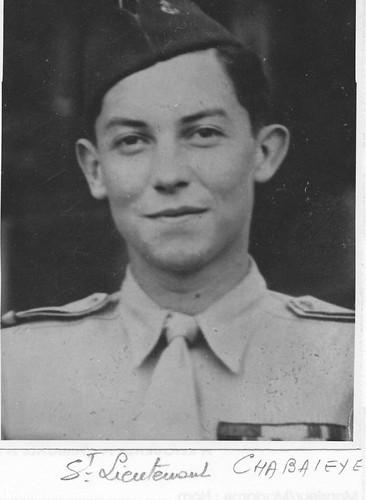 BM 24 - sous lieutenant Chabaleye - Fondation BM 24-Obenheim
