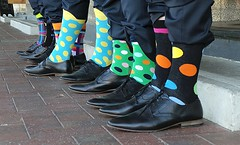 Colourful Socks and Pointy Shoes photo by Theen ...