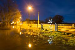 Flood Light (All In Camera Tilt Shift Light Painting), Wareham photo by flatworldsedge
