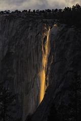 Horsetail Falls Sunset, Yosemite photo by Bill Shupp