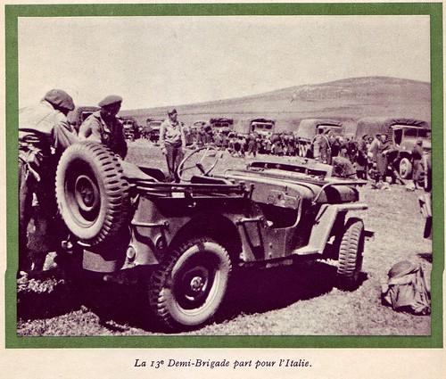 13 DBLE- 1944- Italie - vers l'italie