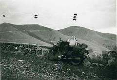 Authion- 1945- Vue de la cime du Tueis -1- Authion 2-  La Forca 3- Mille fourches - Fonds François  Engelbach