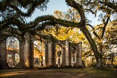 Old Sheldon Church Ruins, Yemassee, South Carolina photo by James Duckworth