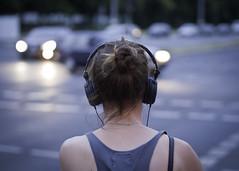 Woman with Headphone photo by kohlmann.sascha