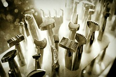 Leather Tools photo by Treesha Duncan